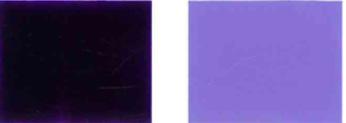 الصباغ البنفسجي-23-اللون